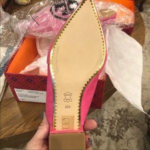 Tory Burch Shoes - NIB TORY BURCH Rosalind 20MM Mule Lancaster Suede
